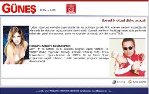 GÜNEŞ-MAY 2005