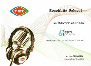 TRT-Teşekkür 2009